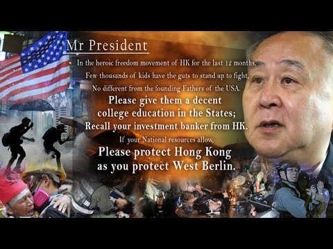 香港富豪誓言余生抗争到底:留岛不留人?凭乜?(图)