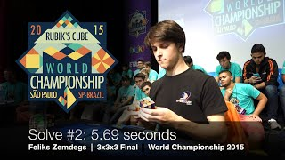 Feliks Zemdegs - Rubik's Cube World Champion 2015