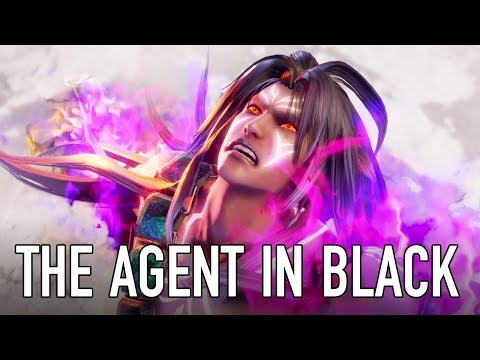 SOULCALIBUR VI – PS4/XB1/PC – The Agent in Black (Character announcement trailer)