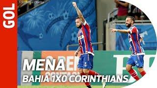 Bahia 1x0 Corinthians - Gol de Mena
