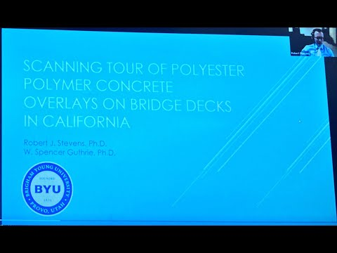 hqdefault - Conference: Scanning Tour of Polyester Polymer Concrete Overlays on Bridge Decks in California - Concrete Floor Pros