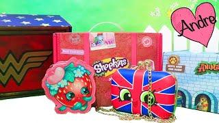 cajas sorpresa de mujer maravilla shopkins animal jam y supernatural juguetes con andre
