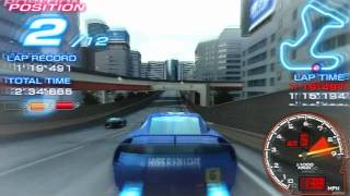 Ridge Racer Game Sample - PSP