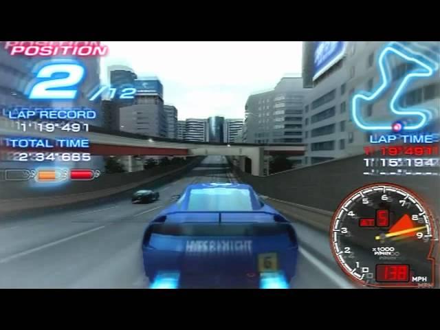 Ridge Racer Game Sample - PSP