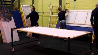 Large Format Stretching