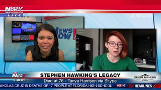 STEPHEN HAWKING LEGACY: Dir. of Research for ASU NewSpace appears on FNN