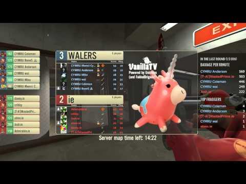 VanillaTV - Ireland vs Wales - ETF2L Nations Cup - Badlands