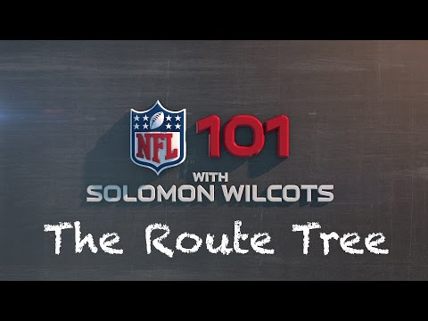 NFL 101: The Route Tree