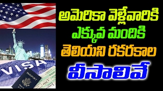 Video What are the different types of visas | Visa policy of the United States | Top Telugu Viral download MP3, 3GP, MP4, WEBM, AVI, FLV Juni 2018