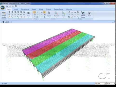 CSiBridge || Design of Precast Concrete Composite Girder Bridges || Construction News