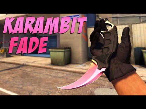 CS:GO - Knife Pattern Overview: Karambit   Fade