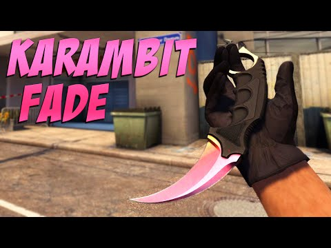 CS:GO - Knife Pattern Overview: Karambit | Fade