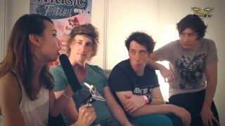 The Wombats In Malaysia - Interview (Future Music Fest Asia 2012)