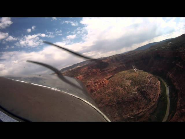 Flying the Dolores River