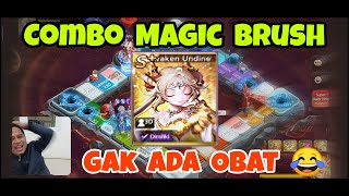GAMEPLAY MAGIC BRUSH !! PENDANT EPIC COMEBACK !! LINE LET'S GETRICH