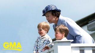 Grandma Goals: A Look At Queen Elizabeth II With Her Grandkids And Great-grandchildren | GMA