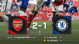 Chelsea vs Arsenal 1 1 All Gоals Extеndеd Hіghlіghts FA Cup Final 2020 Aubameyang Pulisic