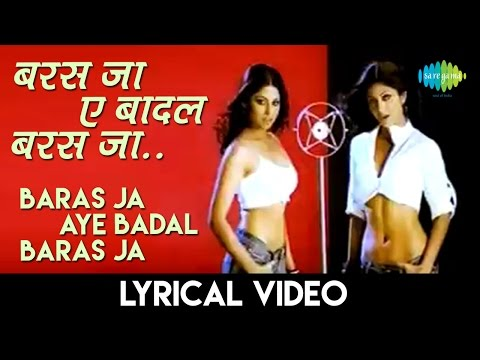 Baras Ja(Remix) with lyrics | बरस जा (रीमिक्स) गाने के बोल | Fareb | Shamita Shetty/Shilpa Shetty