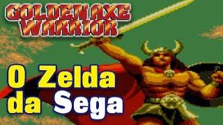 O Zelda da Sega - Golden Axe Warrior do Master System