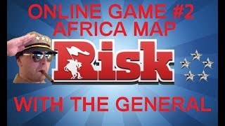 Risk Online Game #2 - Africa Map - Commentary With The General HD(Series 3)