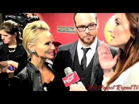 Kristen Chenoweth & Dana Brunetti at QVC's Red Carpet Style Party QVCRedCarpet @KChenoweth