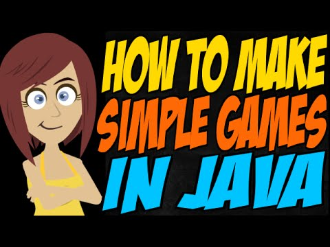 How to Make Simple Games in Java - YouTube