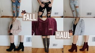 FALL TRY-ON HAUL + GIVEAWAY! (Missguided, WhiteFox, ASOS, & More!) | Mel Joy