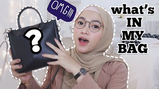 What's in my bag - Indonesia
