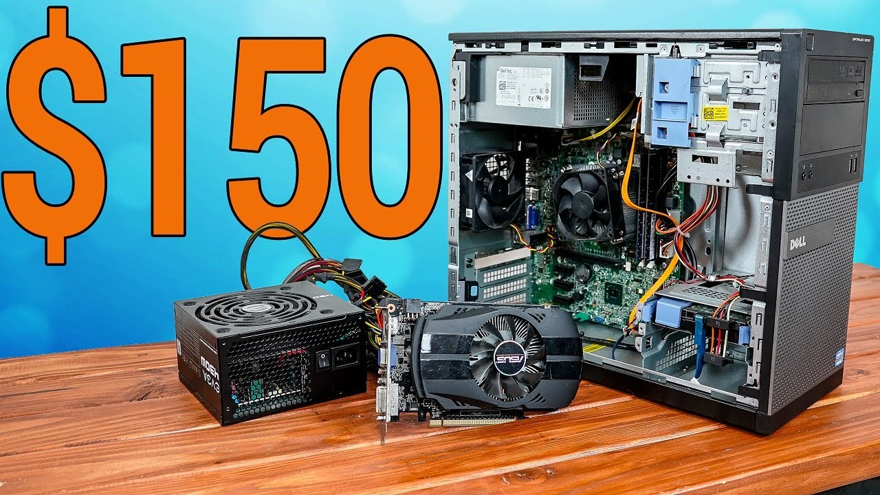 150 Budget Gaming Pc Build Guide Fortnite Pubg More