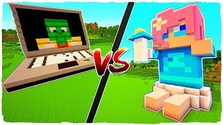 👉 Casa de NOTEBOOK vs casa de BEBÉ TINENQA - MINECRAFT
