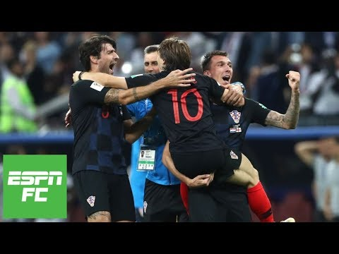 Croatia beats England in 2018 World Cup to reach final vs France Instant Analysis  ESPN FC