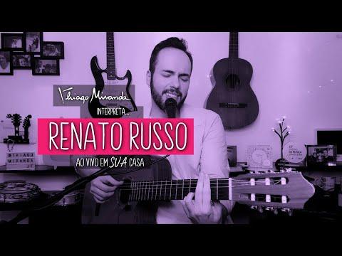 Thiago Miranda interpreta RENATO RUSSO Ao vivo em SUA casa #FiqueEmCasa #LiveDoMiranda