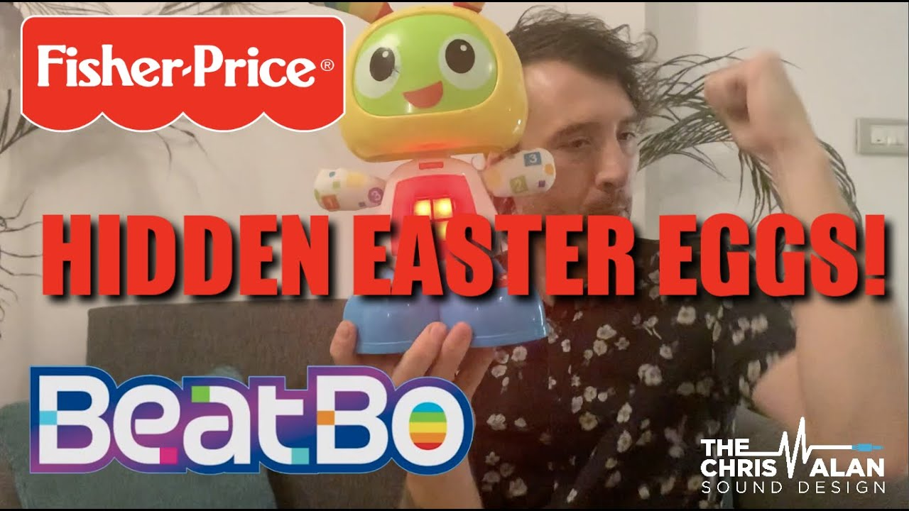I Hide Easter Eggs in Fisher-Price Toy's Audio... Have You Found Any of Them?!