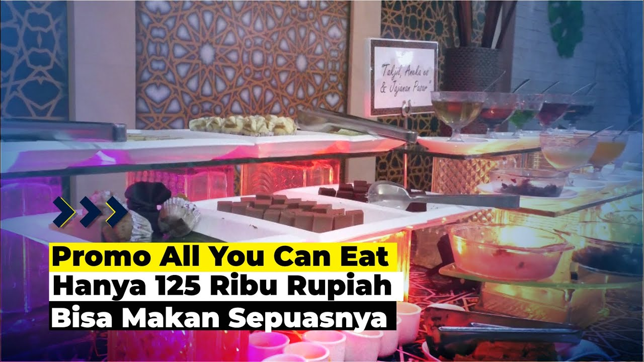 Nikmati Promo All You Can Eat Teras Ramadhan Claro Kendari