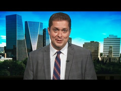 Andrew Scheer supports Prime Minister Trudeau in growing tariff feud