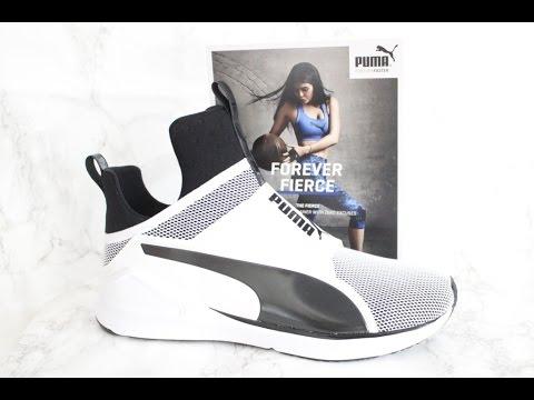 7ba4655d2c933e Kylie Jenner X PUMA Fierce Sneakers  ForeverFierce - YouTube
