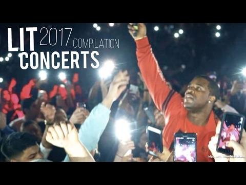 2017 LIT CONCERTS Compilation ft.TravisScott , LilUziVert...