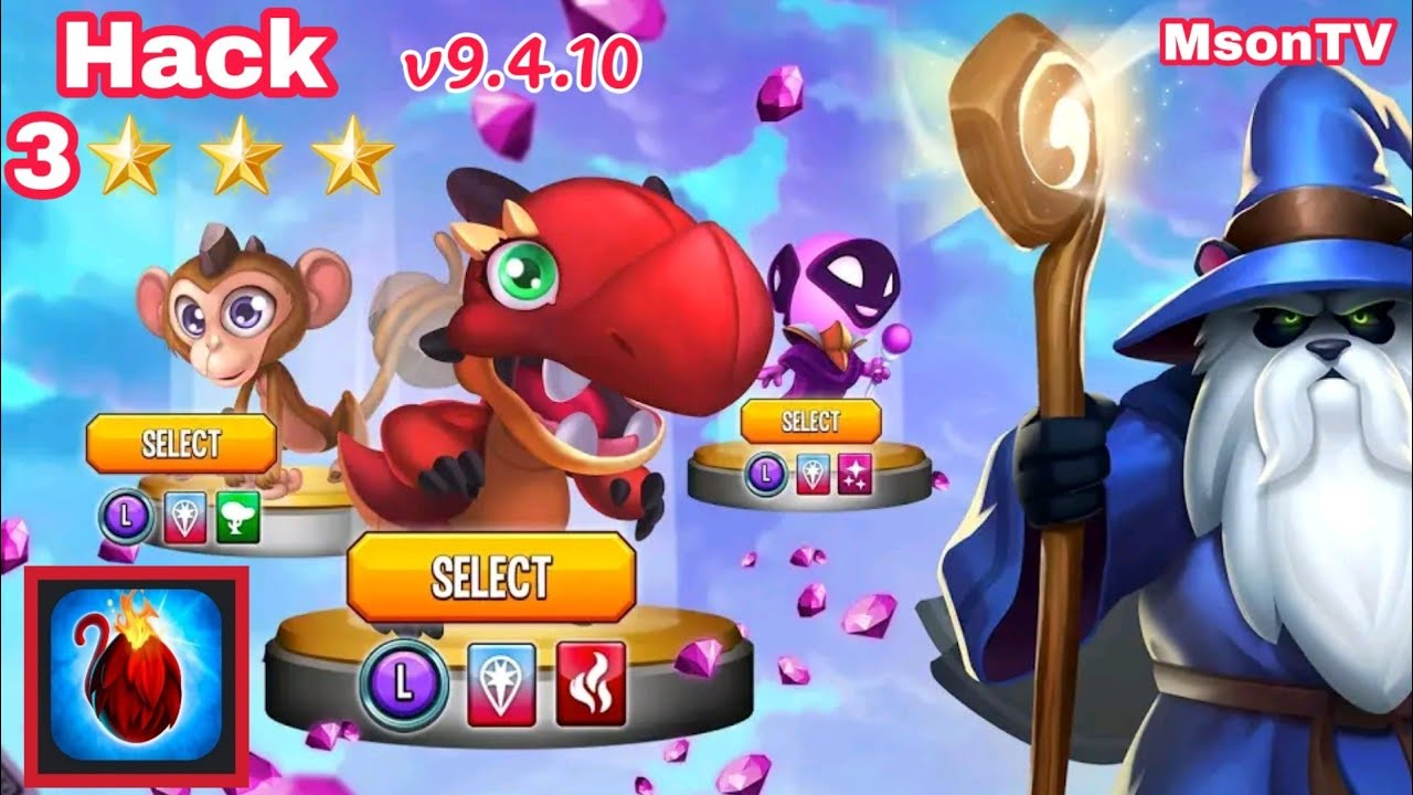 Hack game Monster Legends bản mới nhất v9.4.10
