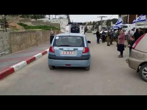 תיעוד: רכב של הרשות שימש ערבי שביצע פיגוע בחברון