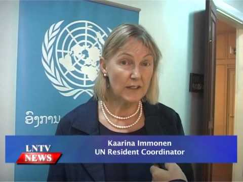 Lao NEWS on LNTV: The UN has committed its continuous support to Laos.27/10/2014
