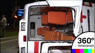 Смотреть видео В Москве произошло ДТП с участием скорой помощи онлайн