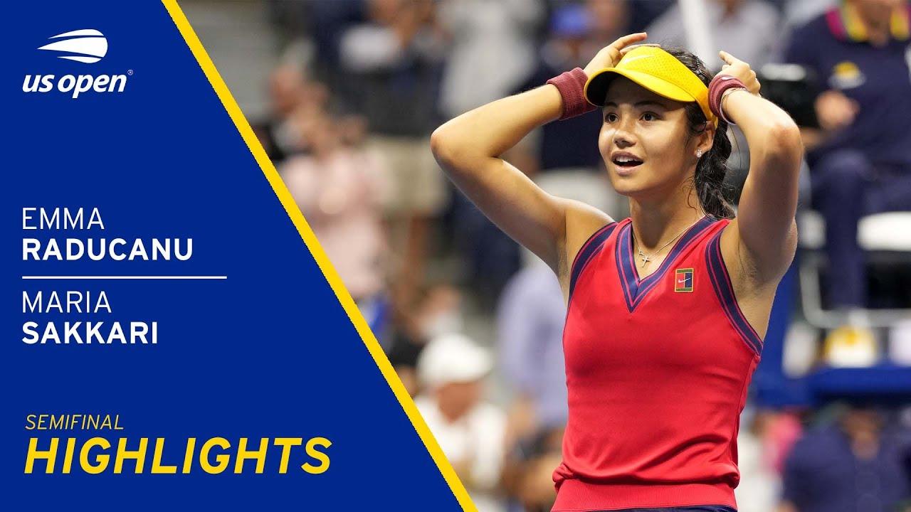 Download Emma Raducanu vs Maria Sakkari Highlights | 2021 US Open Semifinal