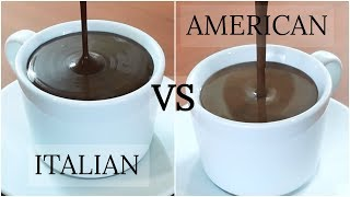 Hot Chocolate Recipe - AMERICAN VS ITALIAN HOT CHOCOLATE