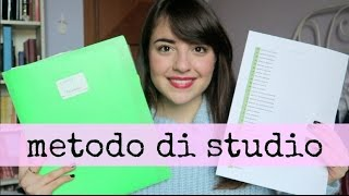 Il mio metodo di studio universitario! - MEDICINA | Giorgia Turco