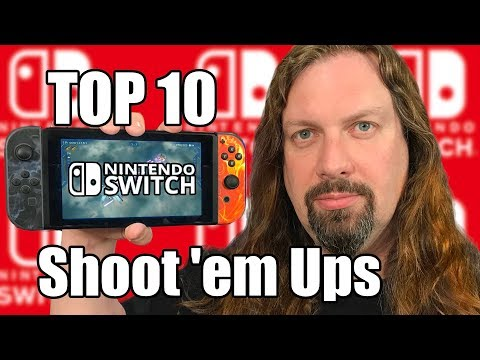 TOP 10 SWITCH - Shoot 'em Up Games  + Honorable Mentions! (SHMUPS)