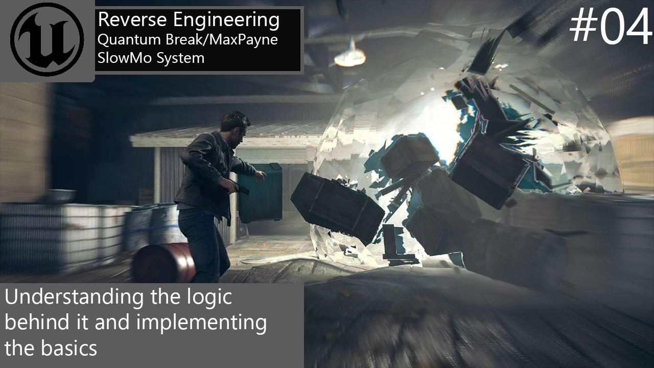 How To Create Quantum Break Max Payne Slowmo Part 1 04