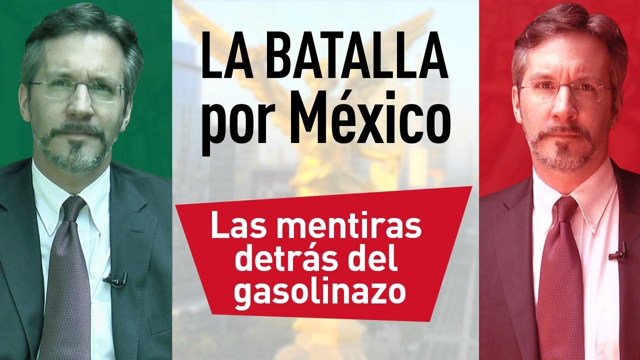 Resultado de imagen de LAS MENTIRAS DETRÁS DEl 'gasolinazo'