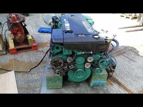 Volvo Penta D6-350A-B 350hp Marine Diesel Engine