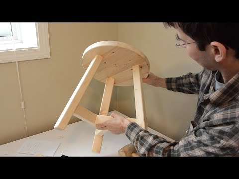 Building a 3-legged stool
