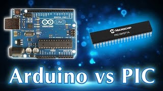 Difference between Arduino and PIC microcontrollers